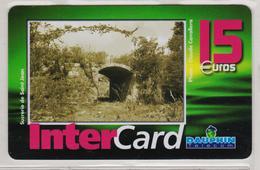 Antilles Françaises InterCard Dauphin 15 Euros 2 Scans N° 19 - Antilles (French)