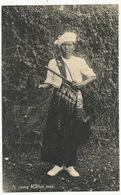 A Young Kachin Man With Sword - Myanmar (Birma)