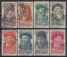 PORTUGAL 1945 Nº 655/62 USADO - Oblitérés