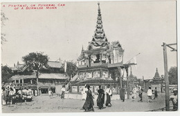 A Pya - That Or Funeral Car Of A Burmese Monk Undivided Back - Myanmar (Birma)
