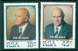 South Africa 1989 Pres. Willen De Klerk MUH Lot35360 - South Africa (1961-...)