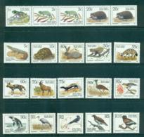 South Africa 1993 Wildlife Asst Latin Inscriptions (20) MUH Lot35264 - South Africa (1961-...)
