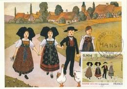 Carte Maximum Yvert  4400 Hansi Colmar 24/10/2009 - Tableau Art Peinture - Maximum Cards