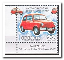 Servië 2010, Postfris MNH, 55 Years Zastava - Servië