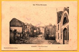 Nomeny - Rue Porte Basse - IMPRIMERIES REUNIES DE NANCY - 1915 - Nomeny