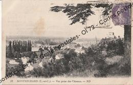 CPA [41] Loir Et Cher > Montrichard - Vue Prise Des Côteaux - Montrichard