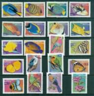 South Africa 2000 Fish, Butterflies, Bird Defins Asst To 20R MUH - South Africa (1961-...)