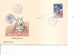 Roumanie - Espace  ( FDC De 1969 à Voir) - FDC