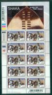 South Africa 2003 Shaka Zulu Sheetlet MUH Lot35251 - South Africa (1961-...)