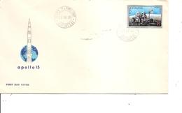 Roumanie - Espace  ( FDC De 1971 à Voir) - FDC