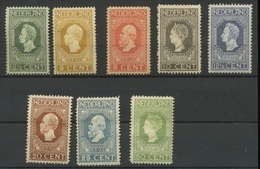 82 Tot 89 * Nieuw   64,- E Kat W   Zeer Mooie Zegels  Très Belle Gravure - 1891-1948 (Wilhelmine)