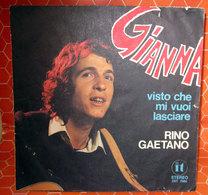 "RINO GAETANO GIANNA  COVER NO VINYL 45 GIRI - 7"" - Accessori & Bustine"