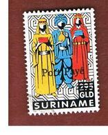 SURINAME (SURINAM) - SG 1694  -   1996 THREE WISE MEN (OVERPRINTED POSTE PAYE')    -  USED° - Suriname