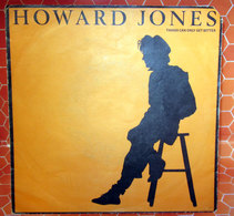 """HOWARD JONES THINGS CAN ONLY GET BETTER  COVER NO VINYL 45 GIRI - 7"""" - Accessori & Bustine"""