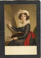 Firenze,Italy-Le Brun Elisabetta/Ritratto Disi Stressa 1908 - Mint Antique Postcard - Italy