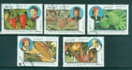 Sahara Occidental 1991 Fruit & Vegetables CTO - Stamps