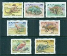 Sahara Occidental 1992 Dinosaurs MUH - Stamps