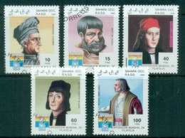 Sahara Occidental 1992 Explorers CTO - Stamps