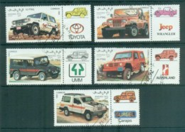 Sahara Occidental 1992 Off Road 4WD Vehicles CTO - Stamps