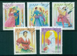 Sahara Occidental 1993 Fairy Tales CTO - Stamps
