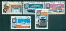 Sahara Occidental 1993 Transport, Ship, Train Cars CTO - Stamps