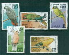 Sahara Occidental 1994 Birds, Parrots CTO - Stamps