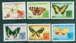 Sahara Occidental 1994 Butterflies CTO - Stamps