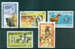 Sahara Occidental 1994 Horses CTO - Stamps