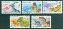 Sahara Occidental 1995 Dinosaurs CTO - Stamps