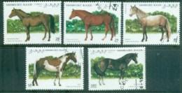 Sahara Occidental 1995 Horses CTO - Stamps