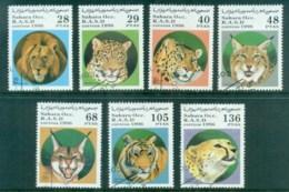 Sahara Occidental 1996 Big Cats, Lion, Tiger CTO - Stamps