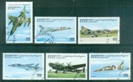Sahara Occidental 1996 War Airplanes CTO - Stamps