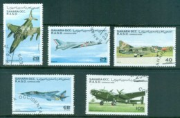 Sahara Occidental 1996 War Planes CTO - Stamps