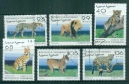 Sahara Occidental 1997 Big Cats, Lion, Cheetah CTO - Stamps