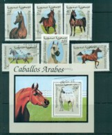 Sahara Occidental 1997 Horses + MS CTO - Stamps