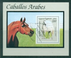 Sahara Occidental 1997 Horses MS CTO - Stamps