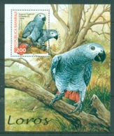 Sahara Occidental 1998 Birds, Parrots MS CTO - Stamps