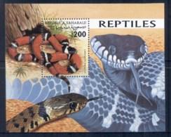 Sahara Occidental 1998 Reptiles, Snake MS MUH - Stamps