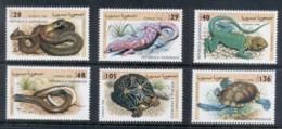 Sahara Occidental 1998 Reptiles, Snake, Lizard, Tortoise, Turtle MUH - Stamps