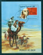 Sahara Occidental 2000 Dogs MS CTO - Stamps