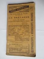 Livret Guides Du Touriste THIOLIER De 1922 - LA BRETAGNE - Du Mont St Michel à Brest Et Nantes - 98 Pages - 17 Photos - Dépliants Touristiques