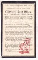 DP EZ Adele Nollet - Zr. Imelda ° Brugge 1876 † Wenduine De Haan 1935 / Spermalie ? Gesticht Doofstoommen & Blinden - Devotion Images