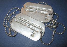Paire De Plaques D'Identité US WW2 - 1939-45