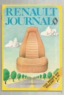 Publicité , RENAULT JOURNAL , Automobiles , RENAULT 12 ,47 Pages ,1973, 4 Scans , Frais Fr 1.95 E - Advertising