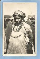 Carte Envoyée De Marrakech (Maroc) Femme Berbère Un Jour De Fête 26-01-194- 2scans - Marrakech