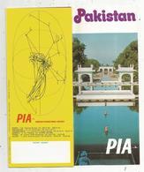 Dépliant Touristique ,PAKISTAN , Pakistan International Airlines ,14 Pages, 3 Scans ,frais Fr 1.65 E - Dépliants Touristiques