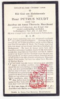 DP Petrus Neudt / Marchand ° Pollinkhove 1844 † Lo Reninge Ad IJzer - Devotion Images