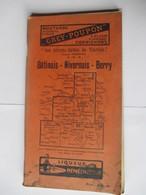 Livret Guides Du Touriste THIOLIER De 1923 - GÂTINAIS / NIVERNAIS / BERRY - 110 Pages - 22 Photos - Dépliants Touristiques