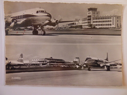 AIRPORT / FLUGHAFEN / AEROPORT     NICE COTE D AZUR  VISCOUNT AIR FRANCE - Aerodromi