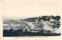 29 - Loquirec - Vue Générale Sur La Pointe Et L'ile Verte - Locquirec